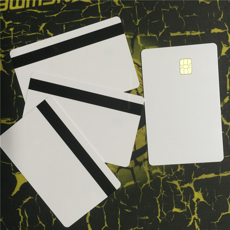 Sle4442 Chip Card with 2 Track 8.4MM HI-CO Magnetic Stripe