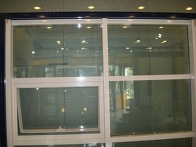 Outside Invisible Aluminum Alloy Glazed Curtain Wall With Hollow Tempered Glass