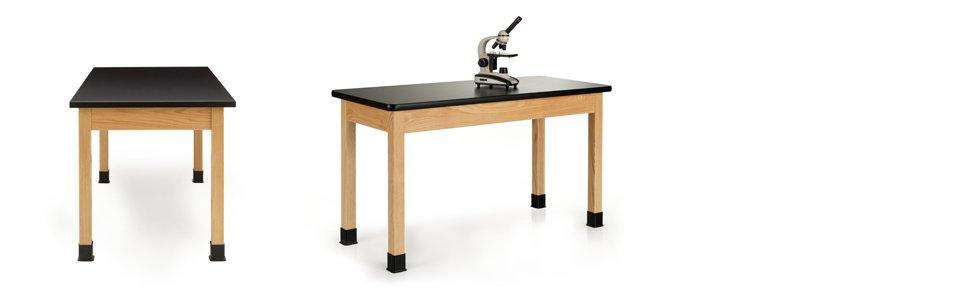 Phenolic Resin Laminate Top Science Lab Table: lab table, laboratory Furniture, school furniture
