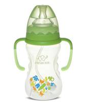 260ml Wide-neck finger bottle with hanger( dual color)