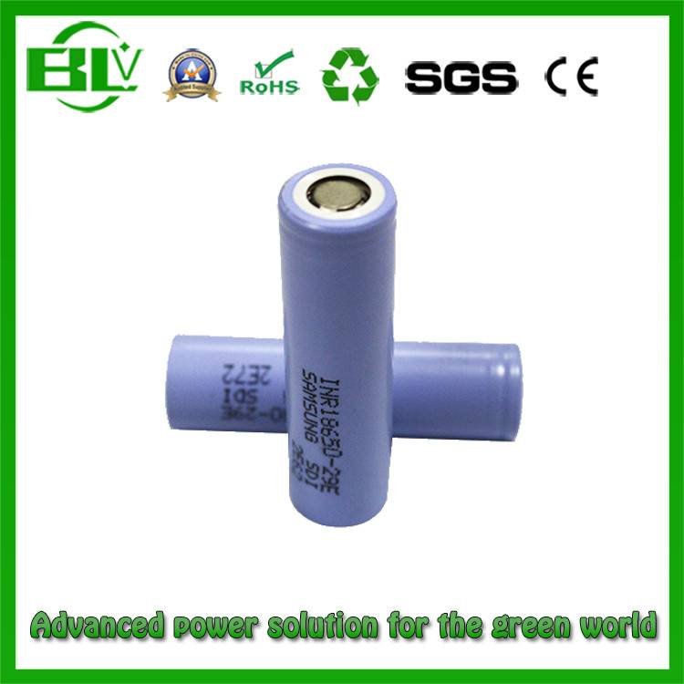 Global Selling Samsung High Full Capacity 18650 2900mAh Li-ion Battery 29e for Bluetooth Speakers