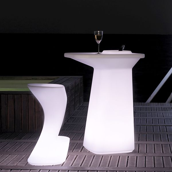 Rechargeable Multi Color Battery Operated LED Bar Chair
