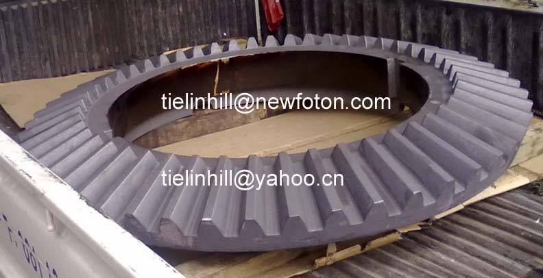 helical gear,gear ring,gear wheel,girth gear,gear and pinion for ball mill,gear for rotary kiln,