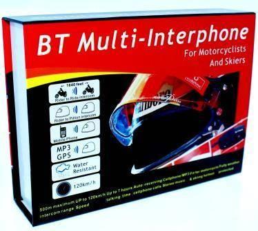 motorycle bluetooth helmet headset interphone