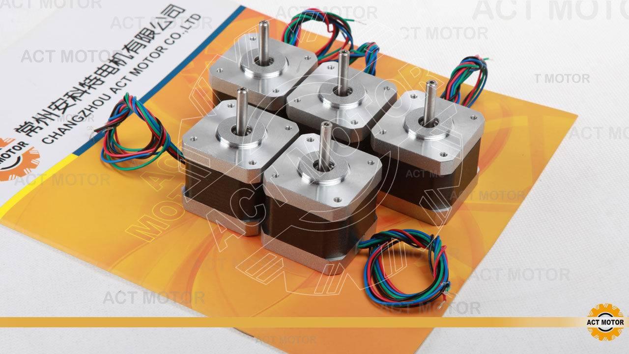 5PCS Nema17 1.7A 17HS4417 stepper motor 3D printer