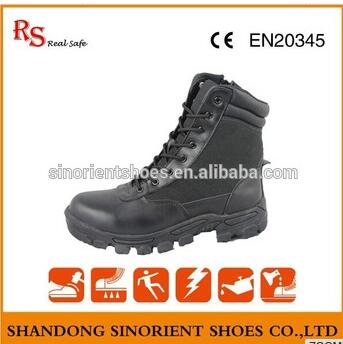 military safety boots RS036