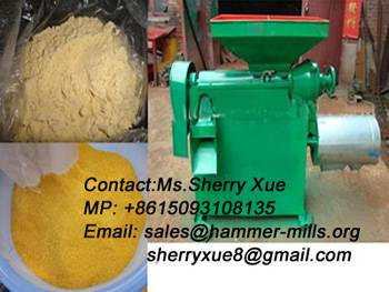 New model corn peeling and grinding machine,corn maize flour grinder AWF20