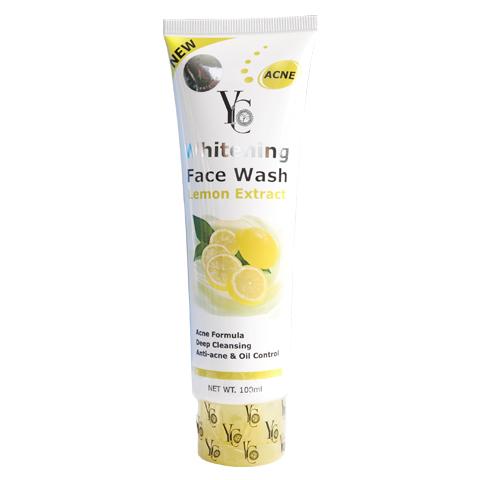 Face Wash Whitening Lemon YC Thailand