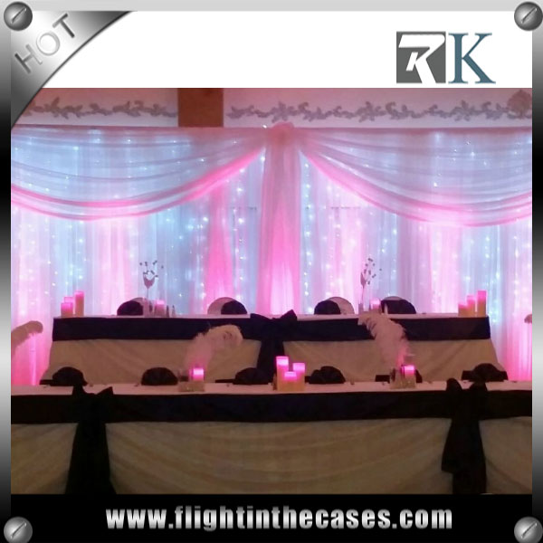 RK wholesale pipe and drape events and wedding decoration