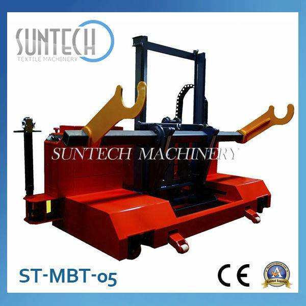 ST-MBT-05 Good Quality Motorized Warp Beam High Lift Trolley For Sale
