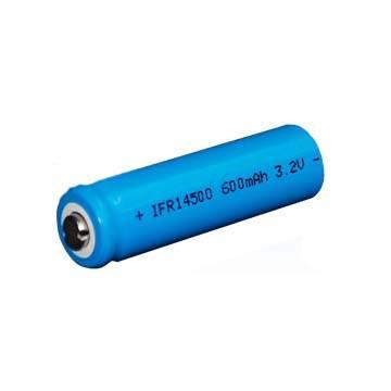 14500 600mAh LiFepo4 Battery