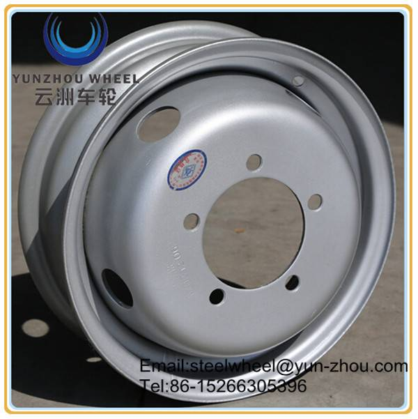 4Jx13 steel wheel rims for light cargo truck