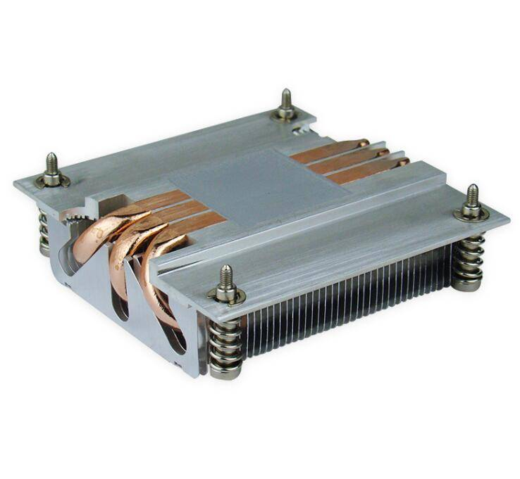 Coonong 1150/1155/1156 fin heat sink brand with heat pipe