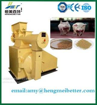 durable ce certificated pig food pellet making machine by HMBT company