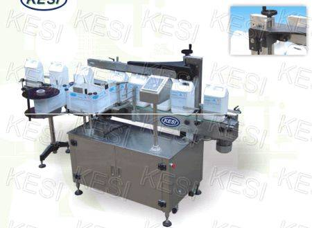 Two Sides Labeler With Wrap Station