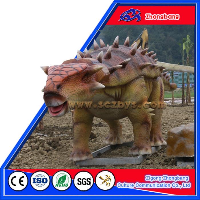 Animatronic Triceratops Dinosaur For Amusement Dinosaur