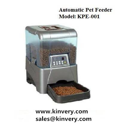 Automatic pet feeder/electronic pet feeding set for dog cat pet