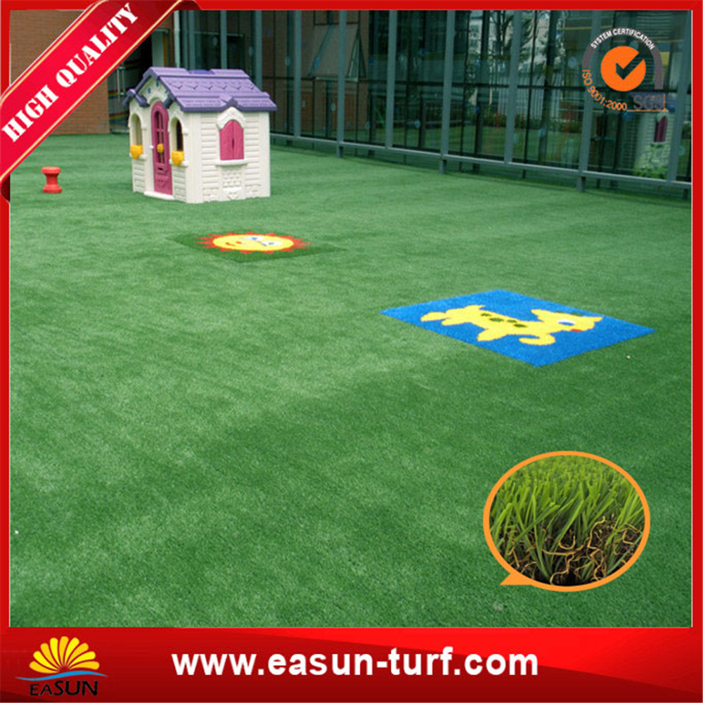 4 color PE PP Landscape artificial grass turf for garden-ML