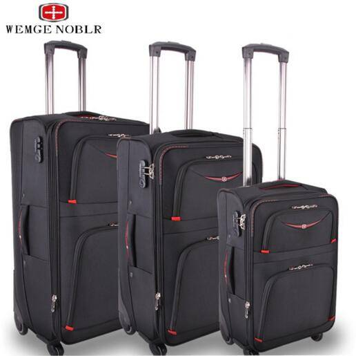 men and women WEMGE SABRE business trolley suitcase,suitcases
