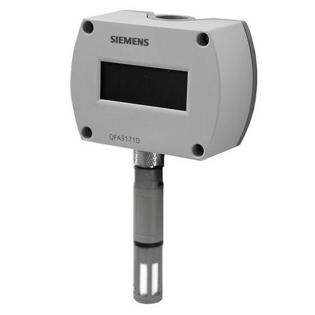 Siemens Temperature, Humidity, Air Quality, Flow, Speed, Pressure Sensors / Transducers