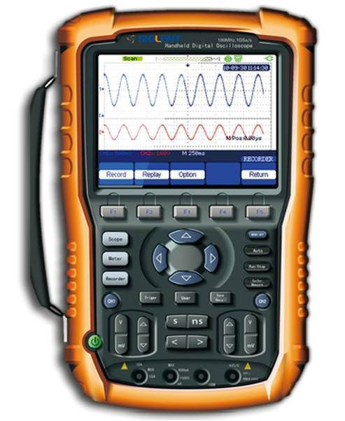 Handheld Scopemeter/ Portable Oscilloscope 60/100Mhz SHS1000series