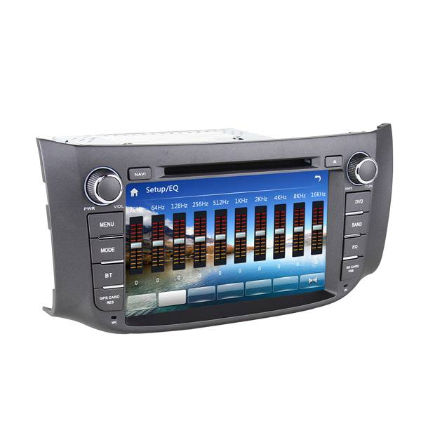 2 Din Car DVD GPS for Nissan Sylphy 2012 2013