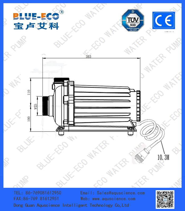 High quality and large flow rate swimming pool water Pump