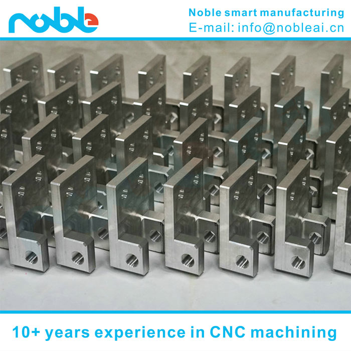 China aluminum alloy guide robot parts CNC machining manufacturers