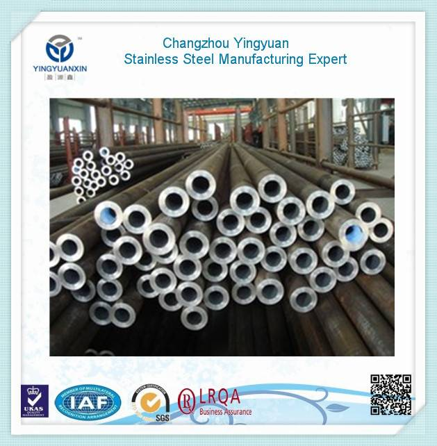 Stainless steel pipe used for mechanical and automotive engineering