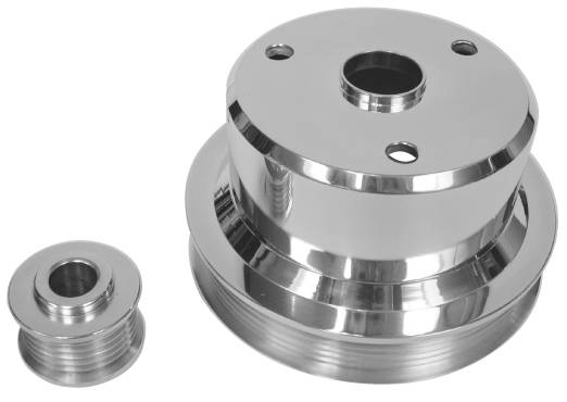 5.7L Camaro/Firebird, 2-Pc Pulley Set