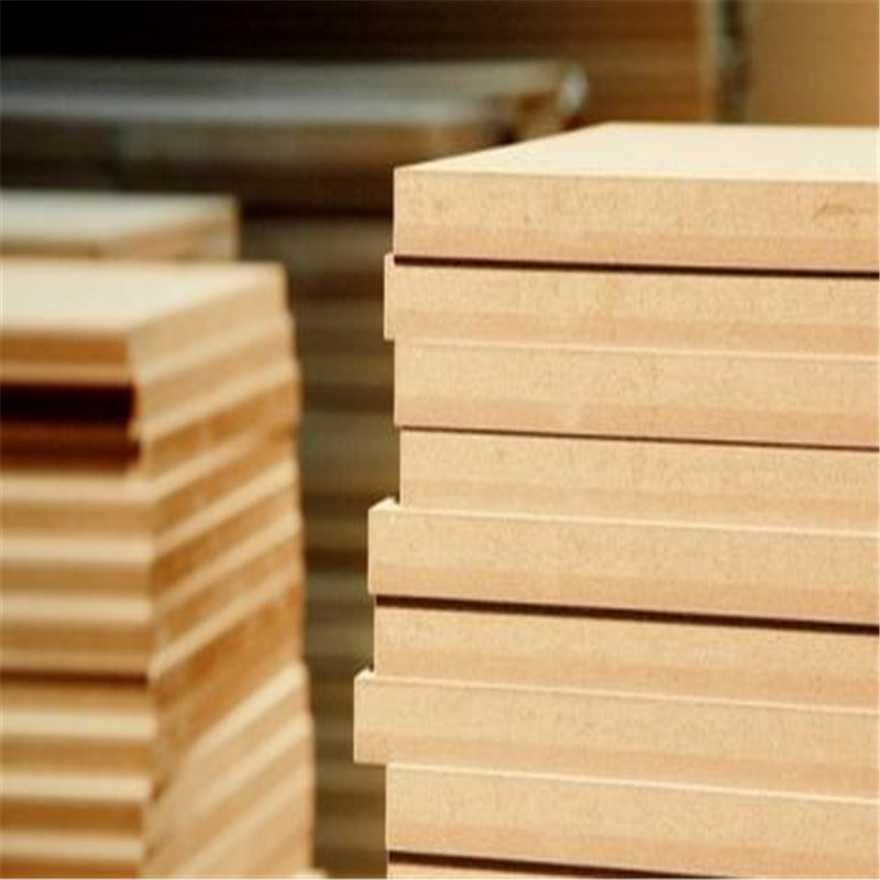 Plain and Melamine Faced MDF for Furniture and Decoration