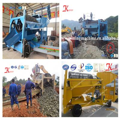Movable Gold Mining Machine for Ghana