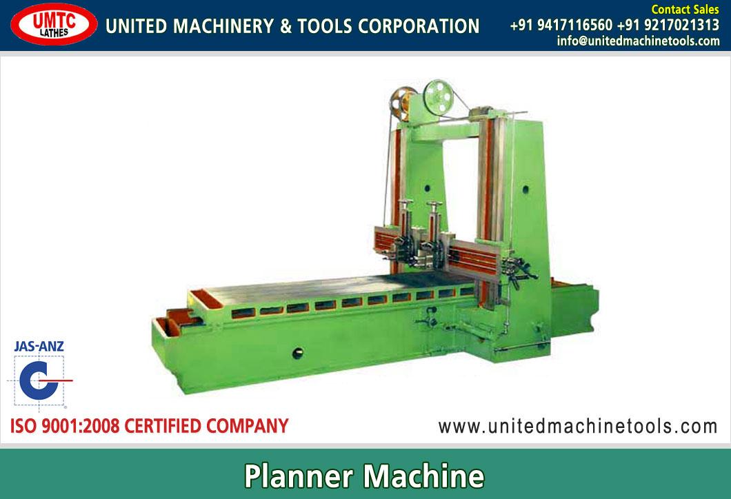 Planner Machine Manufacturers Exporters in India Punjab Ludhiana