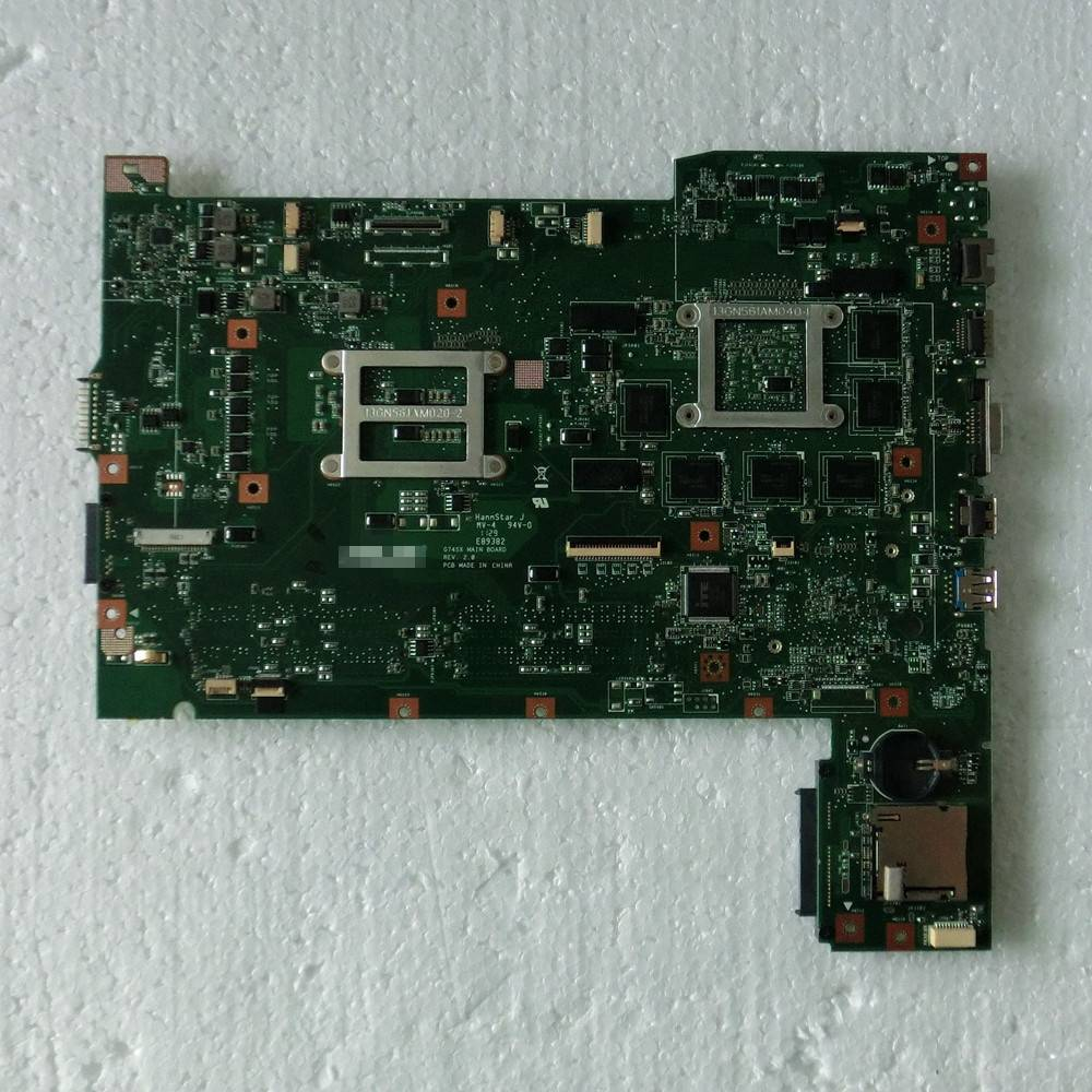 G74SX Laptop motherboard for ASUS G74SX mainboard rev2.0  3D 100% tested
