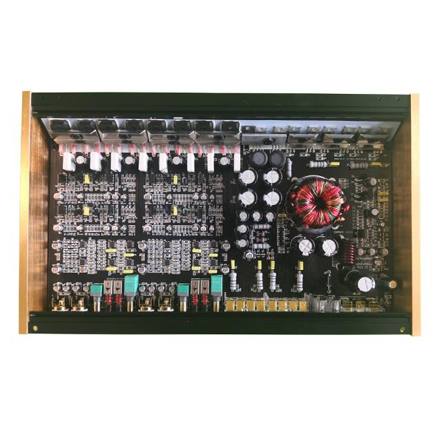 High Power Car Amplifier 80W 4 Channel Competition Car Audio Amplifier Mono Block Class AB