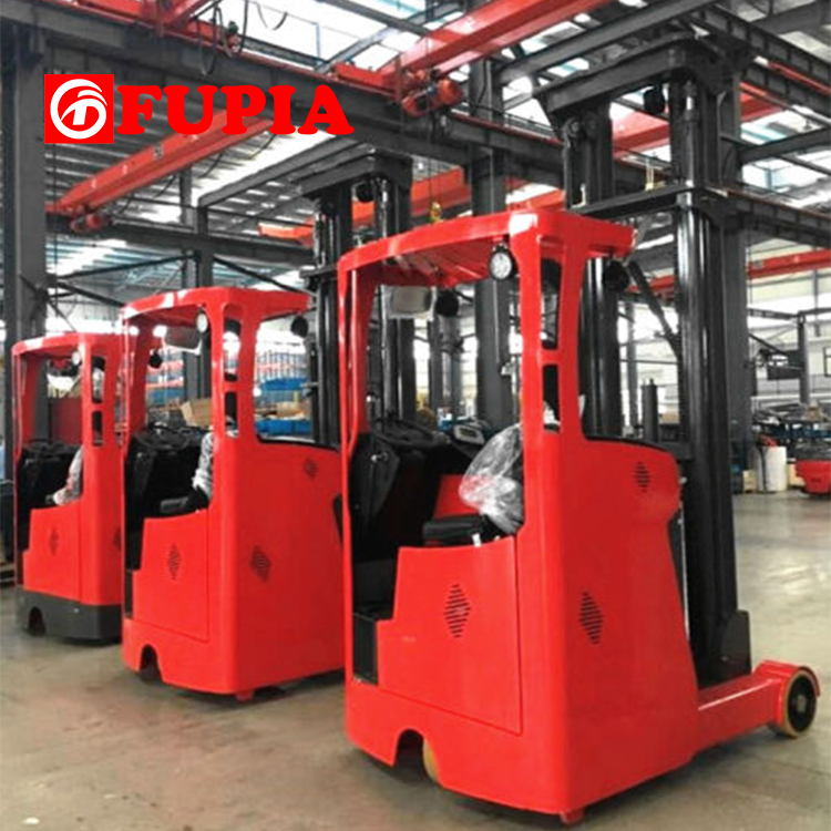 2ton capacity Sit-on Electric Reach forklift truck