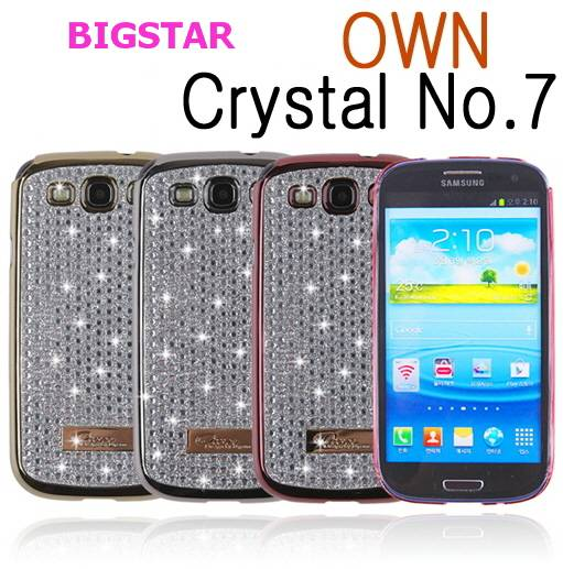 [ BIGSTAR OWN NO.7 CUTIE ] CELL PHONE CASE CUBIC BLING BLING MOBILE PHONE CASE