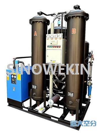Skid mounted samll oxygen generator