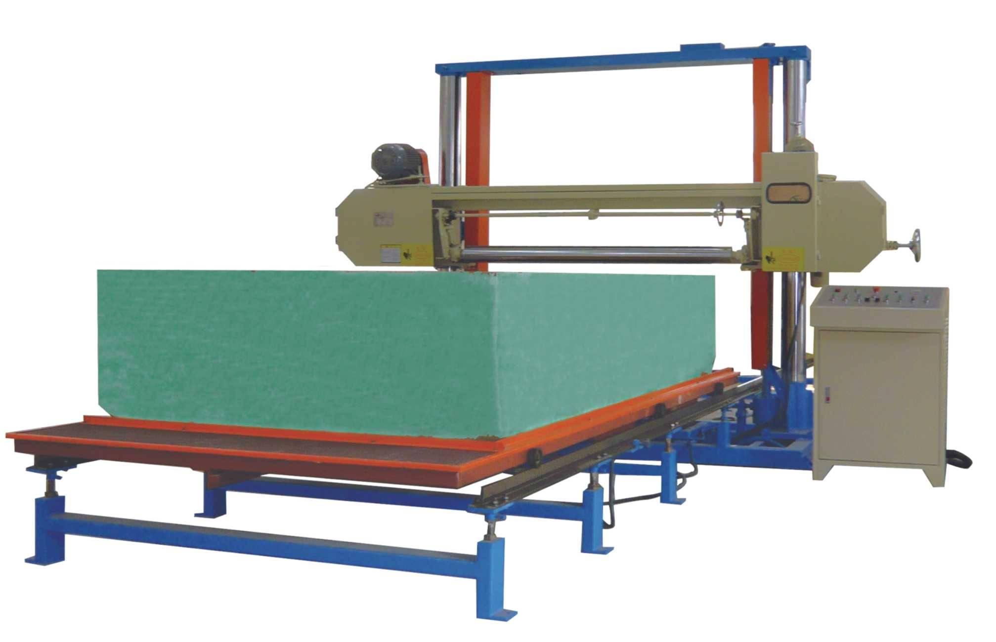 Horizontal Re-bonding Foam Cutting Machine