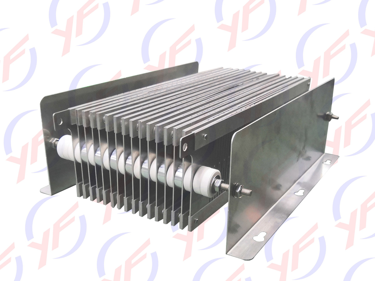 Stainless steel plates 600KW high power resistors for ship' classification