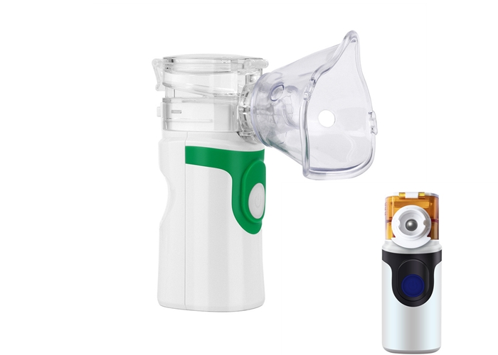 Handheld Mesh Nebulizer Machine For Travel Use,Home Daily Use,Medication Flow Rate 0.4ml/Min