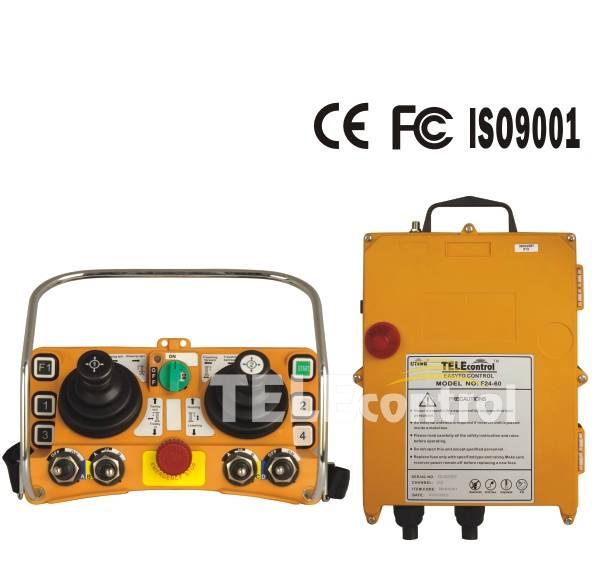 Industrial remote control F24-60 joystick radio remote control crane wireless crane remote control