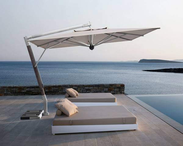 Parasol Made in Italy, Elegant Patio furniture, High Quality Parasols