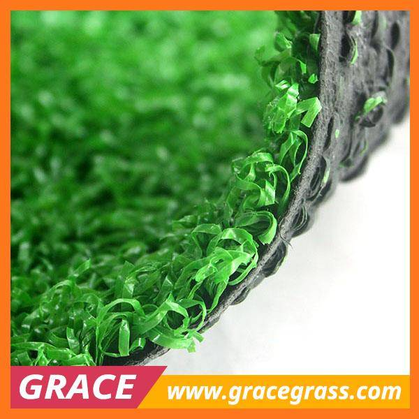 15 mm height curl artificial lawn for putting greens