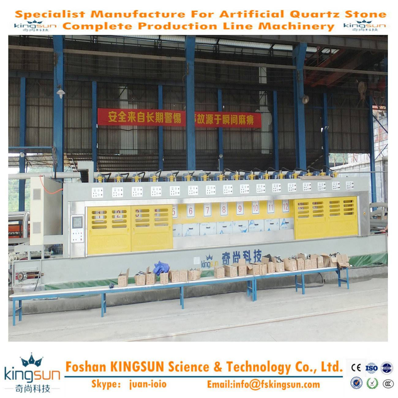 Quartz Stone Polisher/Artificial Stone Slab Polishing Machine