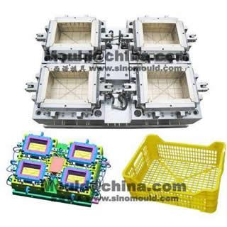 High Speed Crate Mould