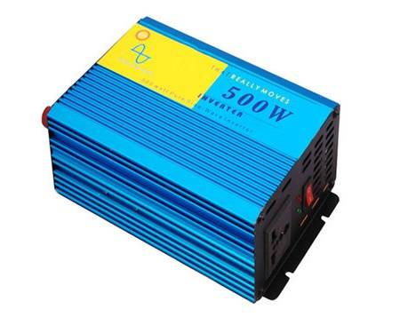 12Vdc to 220Vac 500W off grid solar Pure sine wave inverter with UPS charger