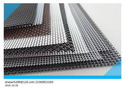 ASTM E2016-15 standard T304 powder coated 10 mesh stainless steel window screen for windows and door