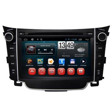 "7"" in-dash car dvd player with Android system for  HYUNDAI I30"