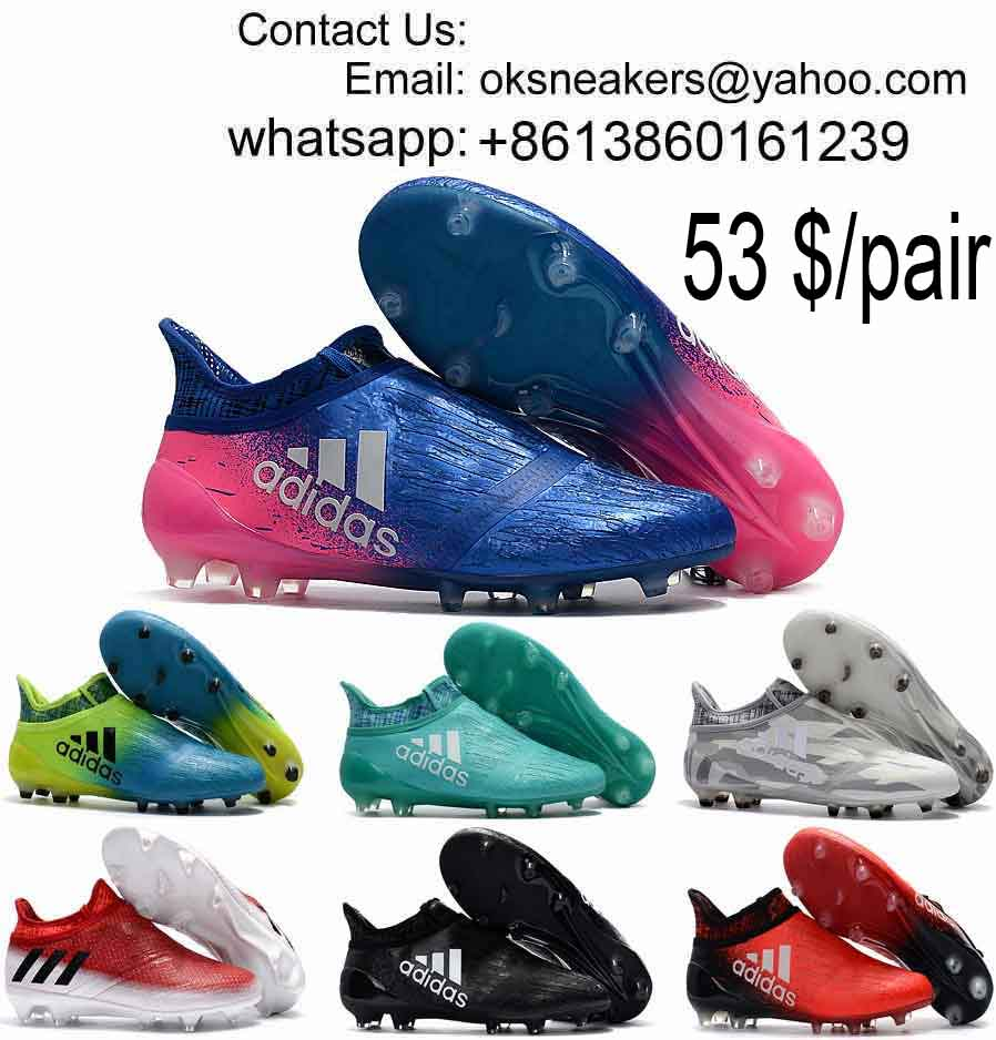 Wholesale Ace 17+ Purecontrol Soccer Shoes Mens X 16+ Purechaos Football Boots Messi Soccer Cleats